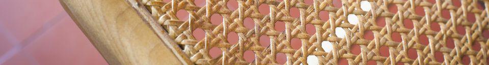 Materialbeschreibung Sessel aus Bambus Thisted