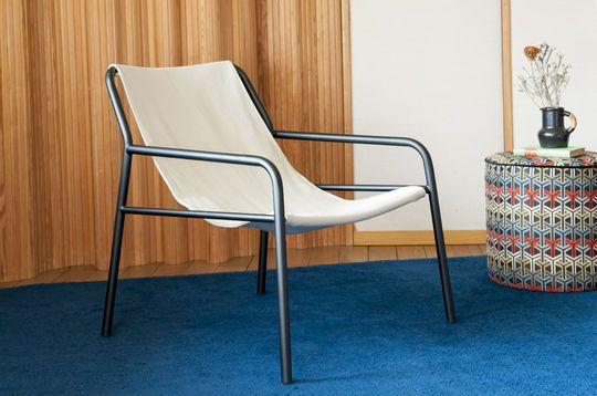 Sessel aus hängendem Segeltuch Côte d'Azur