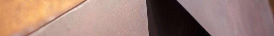 Materialbeschreibung Sessel aus Metall Polygone