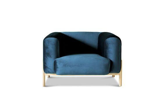 Sessel aus Samt Viela ohne jede Grenze