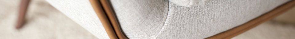 Materialbeschreibung Sessel aus Stoff Järvi