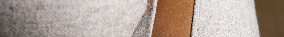 Materialbeschreibung Sessel aus Wolle Britta