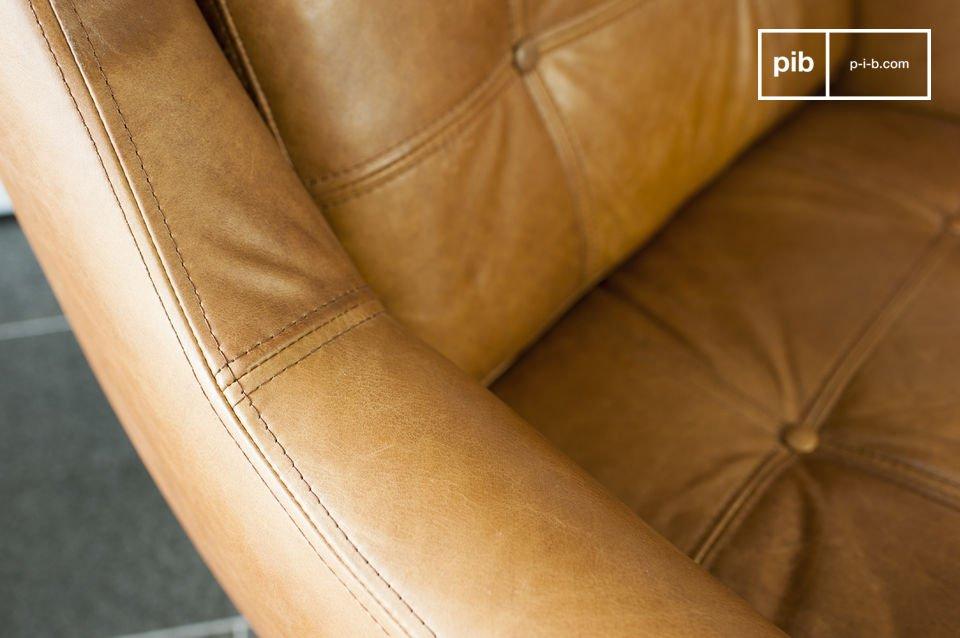 Die Dicke der Kissen und die großzügigen Maße schenken diesem Sessel ein hohen Komfortniveau