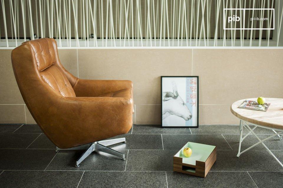 Der Sessel Bushley ist ein perfektes Beispiel des Geistes von Designermöbeln der 60er Jahre