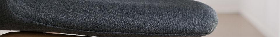 Materialbeschreibung Sessel Dark Tobago