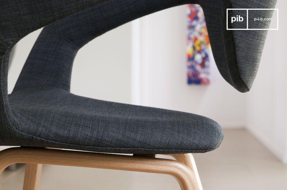 Der Sessel Tobago verbindet Originalität, Komfort und Eleganz miteinander