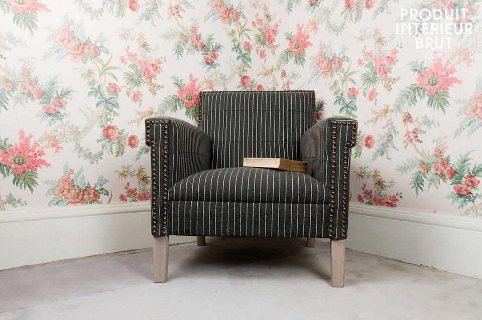 Dieser Sessel überzeugt durch seine Widerstandsfähigkeit: die Garantie für eine langlebige