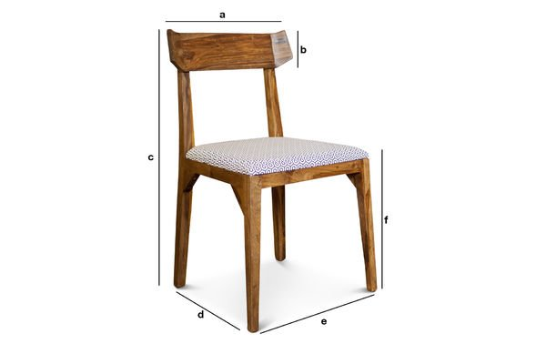 Produktdimensionen Sessel Elsa
