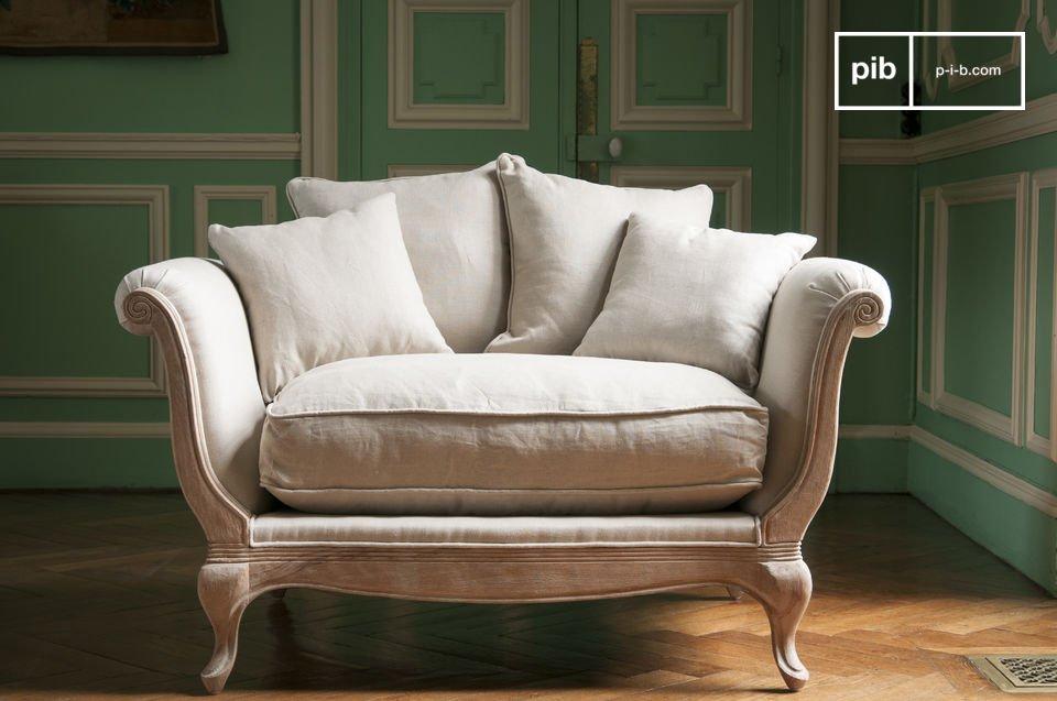 Schenken Sie sich mit den fünf großen Kissen des Sessels Grand Trianon Komfort