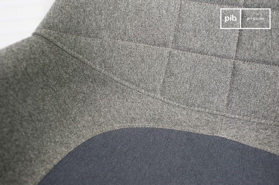 Ein Sessel mit charmanten skandinavischen Linien