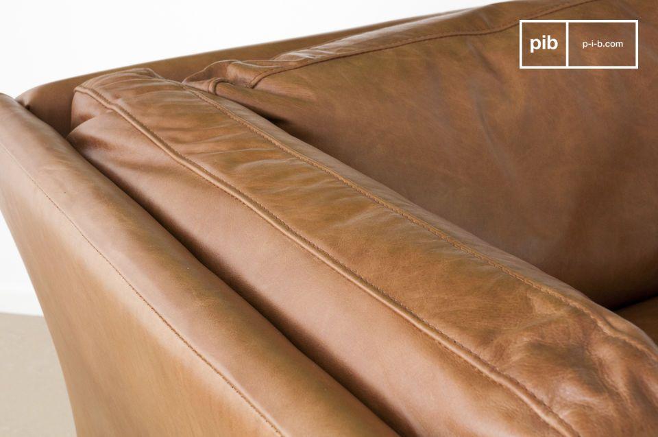 Der Sessel Hamar ist wahrscheinlich einer der schönsten und erfolgreichesten Ledersessel im