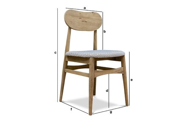 Produktdimensionen Sessel Jotün