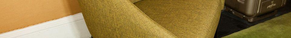 Materialbeschreibung Sessel Kurva