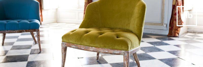 Sessel landhausstil shabby chic bald zurück in der Sammlung