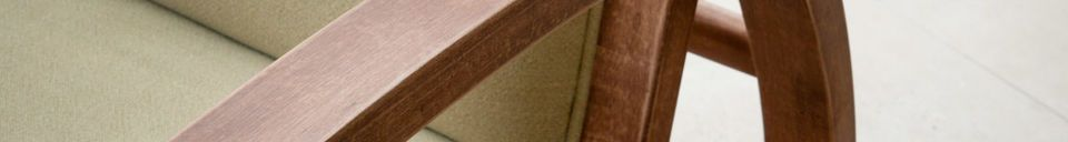 Materialbeschreibung Sessel Stak Boger