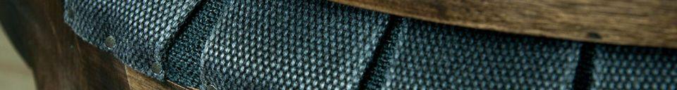 Materialbeschreibung Sessel Sweet Grey