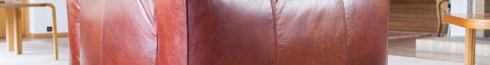 Materialbeschreibung Sessel Vintage Krieger