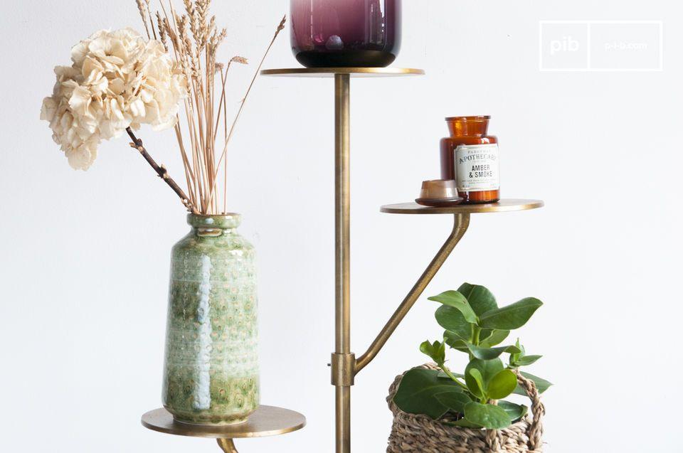Ideal für Pflanzen im Wohnzimmer oder Taschen und Hüte im Eingangsbereich