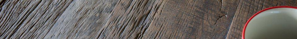 Materialbeschreibung Sherman Esstisch aus Naturholz