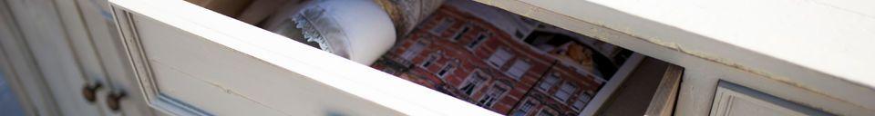 Materialbeschreibung Sideboard aus Holz Belleville