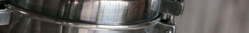 Materialbeschreibung Silber Hängeleuchte Lynce