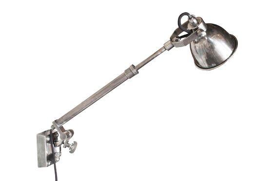Silber Teleskop-Wandleuchte Tuk ohne jede Grenze