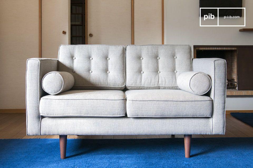 Großer Komfort, Melierter Stoff im Stil des zwanzigsten Jahrhunderts