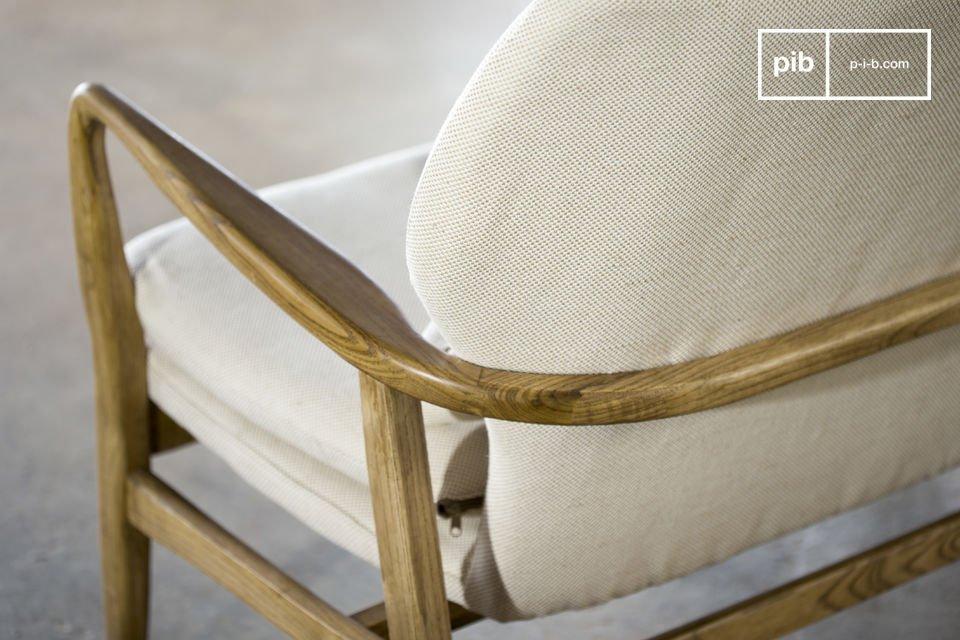 Ein unbeschreiblicher Komfort kombiniert mit der Feinheit des skandinavischen retro Stils