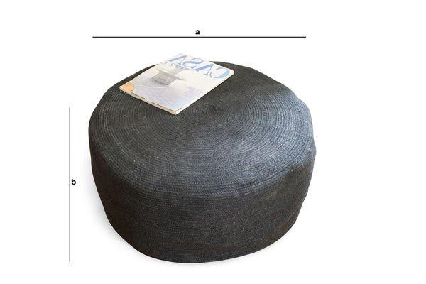Produktdimensionen Sitzkissen Sissal