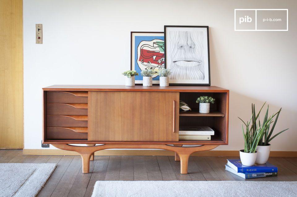 Eine wahre Ode an das skandinavische Design der 1950er Jahre
