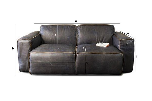 Produktdimensionen Sofa Atsullivan