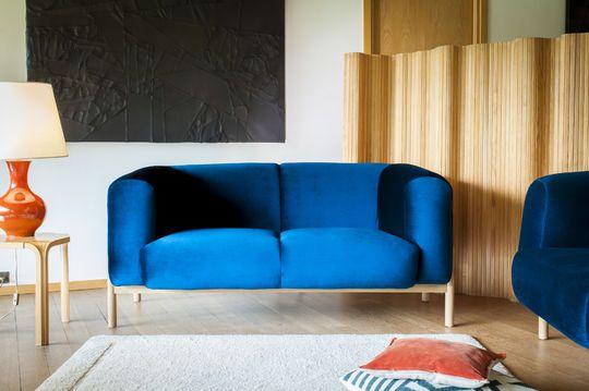 Sofa aus Samt Viela