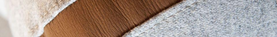 Materialbeschreibung Sofa Britta aus Wolle