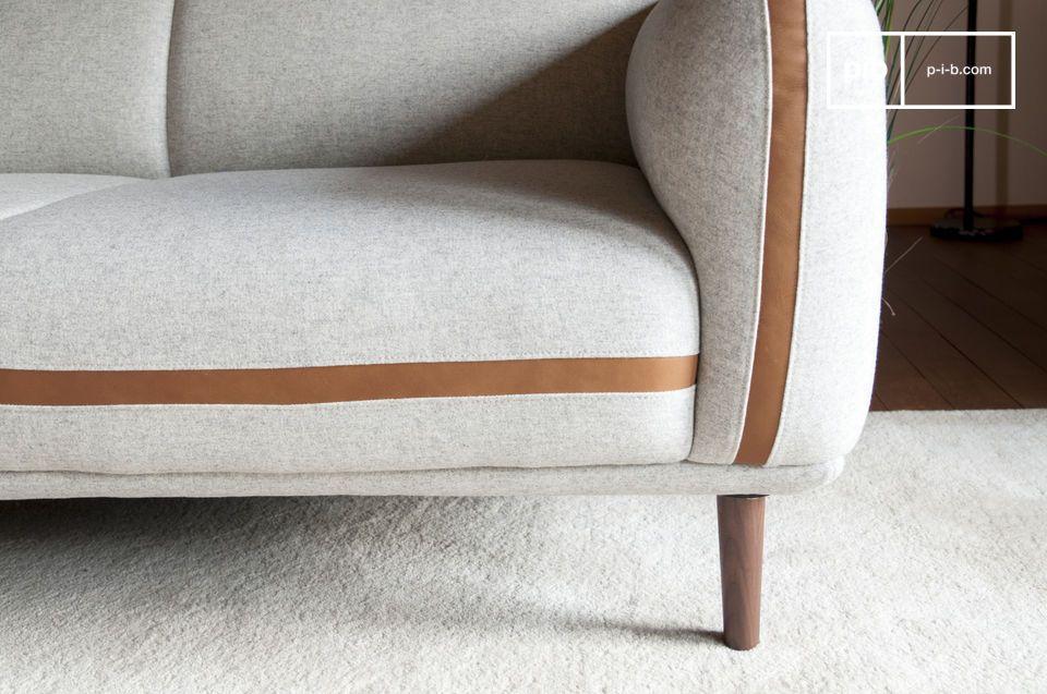sofa britta aus wolle retro sofa aus wolle leder pib. Black Bedroom Furniture Sets. Home Design Ideas