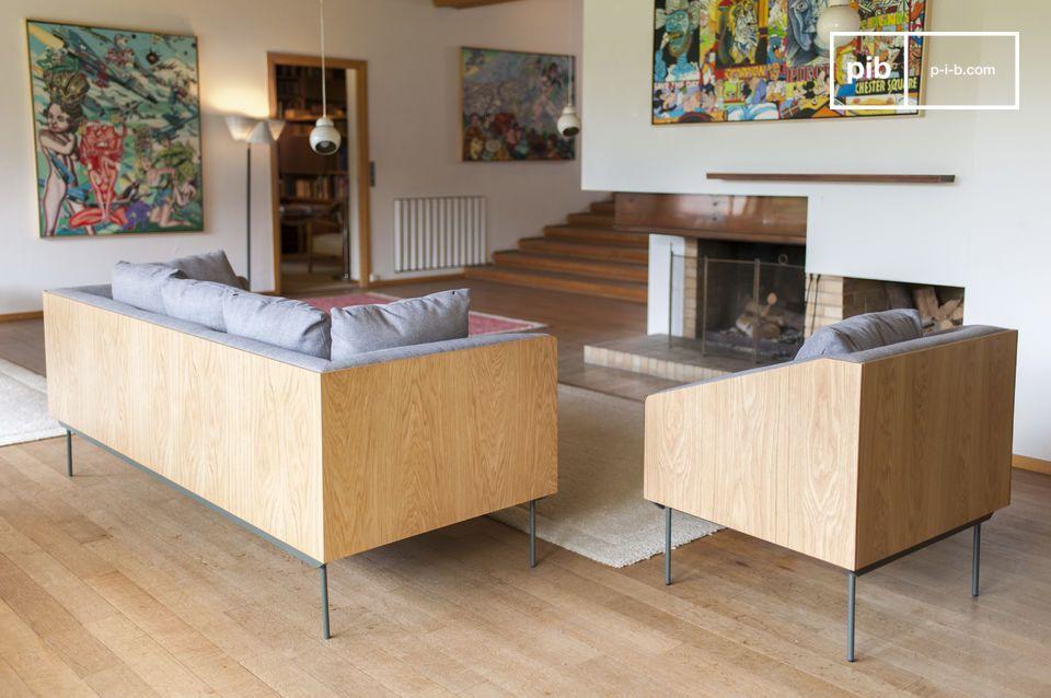 Dieses Möbelstück weist einen wunderbaren Komfort auf