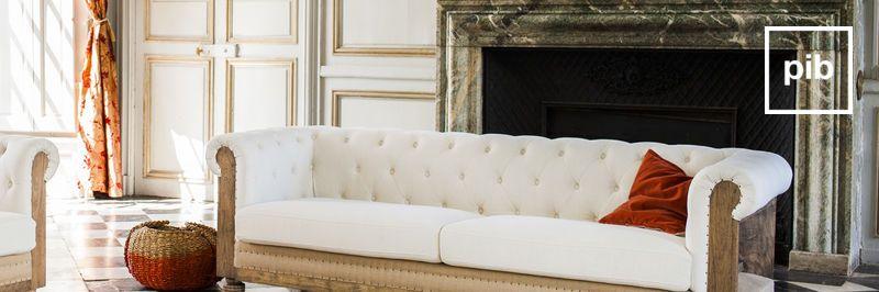 Sofa Landhausstil shabby chic