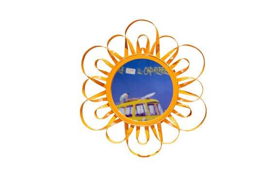 Spiegel Aurinko Orange ohne jede Grenze