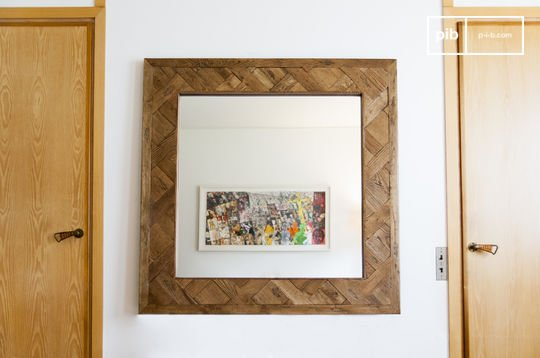 Spiegel aus Holz Queens