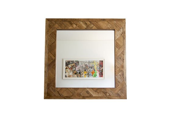 Spiegel aus Holz Queens ohne jede Grenze