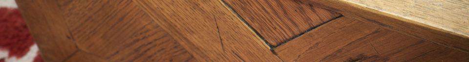 Materialbeschreibung Spiegel aus Holz Queens