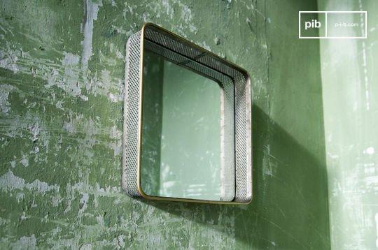 Spiegel aus Metall Olonne