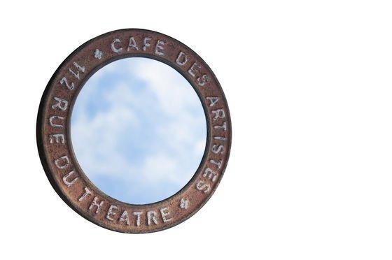 Spiegel de la Rue du Théâtre ohne jede Grenze