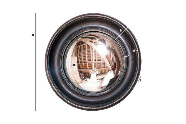 Produktdimensionen Spiegel Magellan