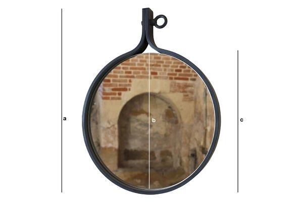 Produktdimensionen Spiegel Matka