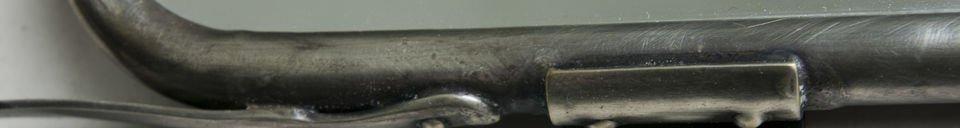 Materialbeschreibung Spiegel mit Flügeltüren