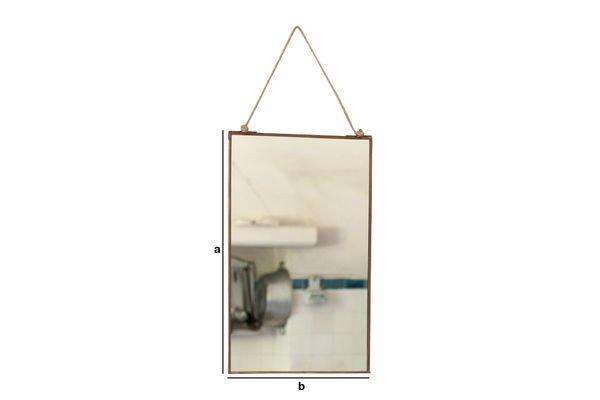 Produktdimensionen Spiegel Solliès-Pont