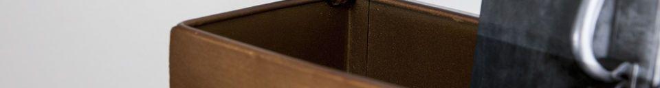Materialbeschreibung Spiegel und Wandgarderobe Mimizan