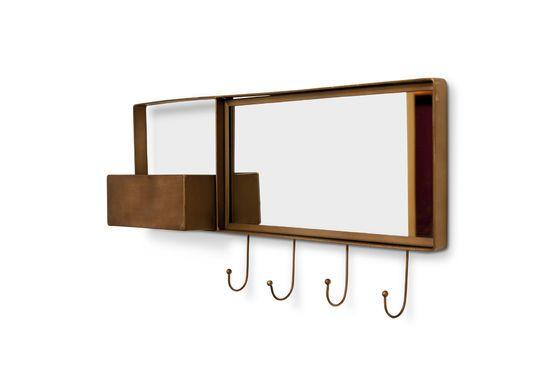 Spiegel und Wandgarderobe Mimizan ohne jede Grenze
