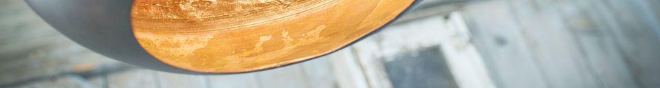 Materialbeschreibung Spitzbogen-Hängeleuchte Kalixte