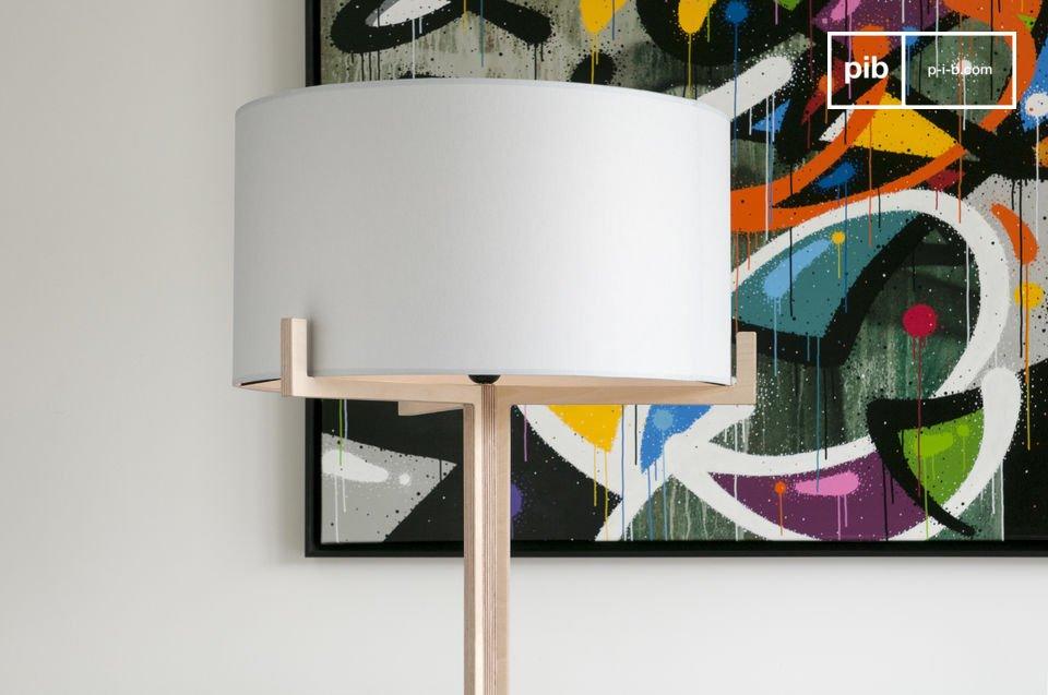 Sie ist ein perfektes Beispiel des schlichten und eleganten Skandinavischen Designs